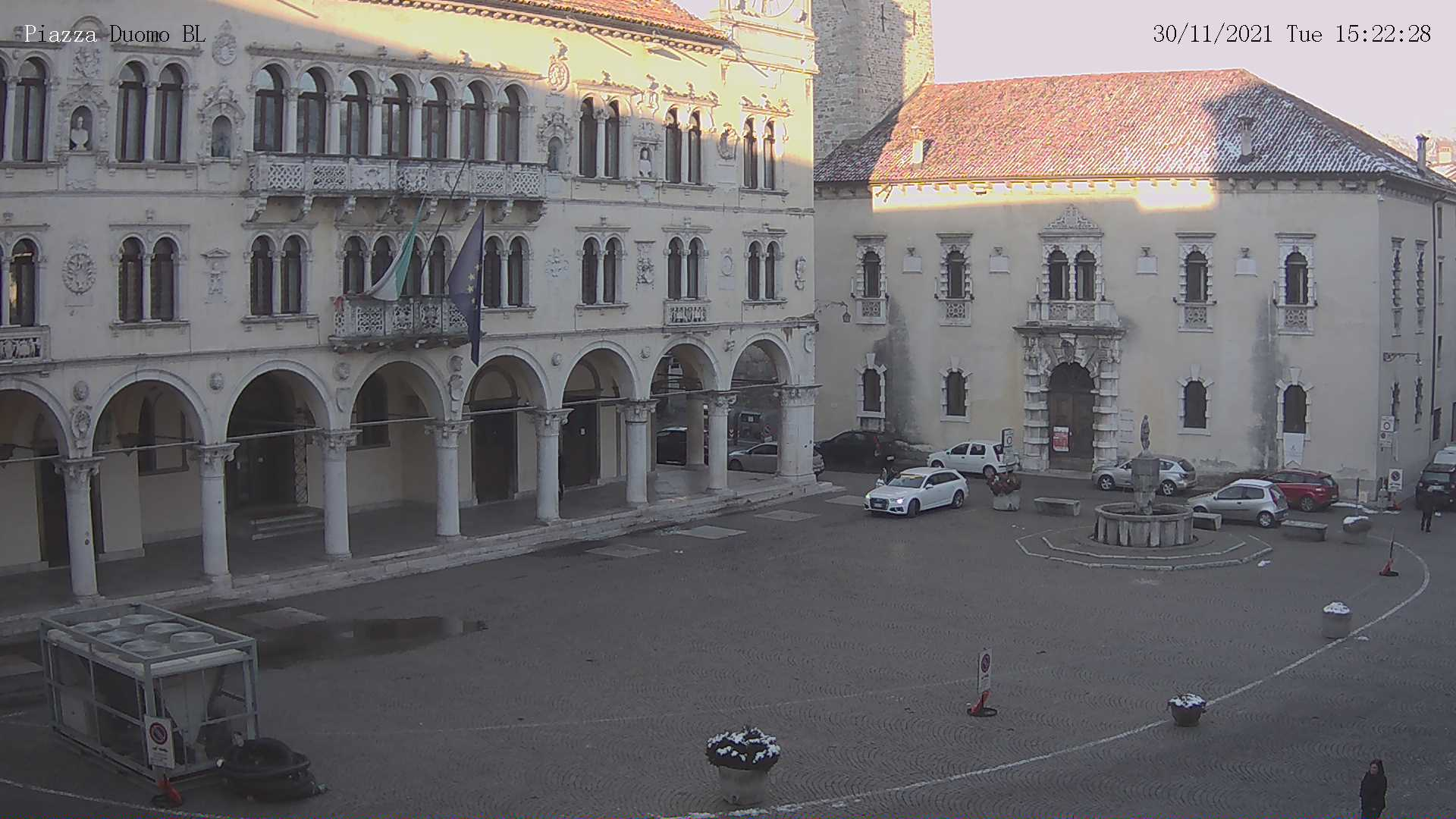 Webcam Belluno p.zza Duomo